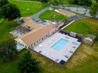 Otterkill country club aerial photo