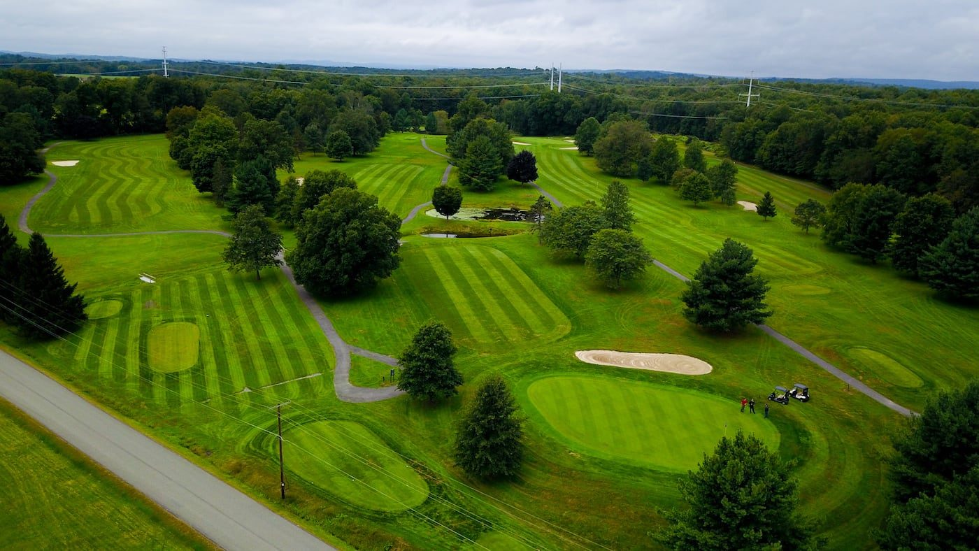 Otterkill Golf Course Aerial Photo-1
