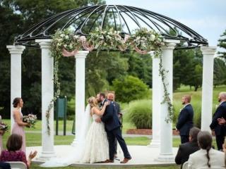 Otterkill wedding ceremony