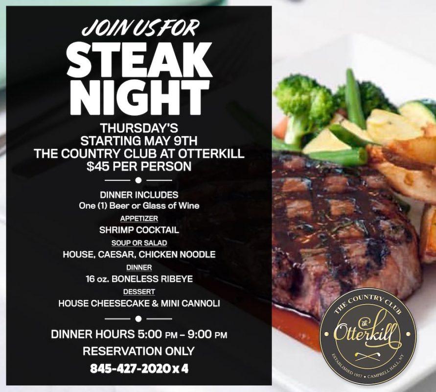 Steak Night Thursdays